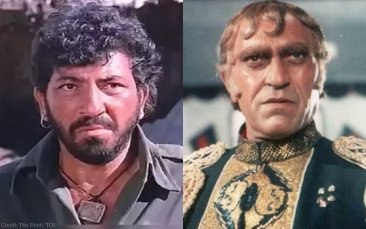 Bollywood villains mogambo and Gabbar
