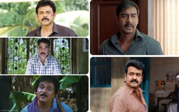 The Best Scene In Drishyam, As Performed By Mohanlal, Kamal Haasan, Ajay Devgn, Venkatesh and Ravichandran