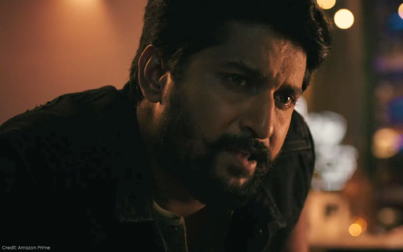 V on Amazon Prime Video, with Nani and Sudheer Babu: A thoroughly underwhelming cat-and-mouse thriller