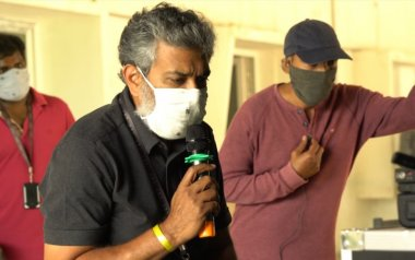 """A Rrroaring Comeback: SS Rajamouli's RRR Team Resumes Shoot With """"Double The Grit"""""""