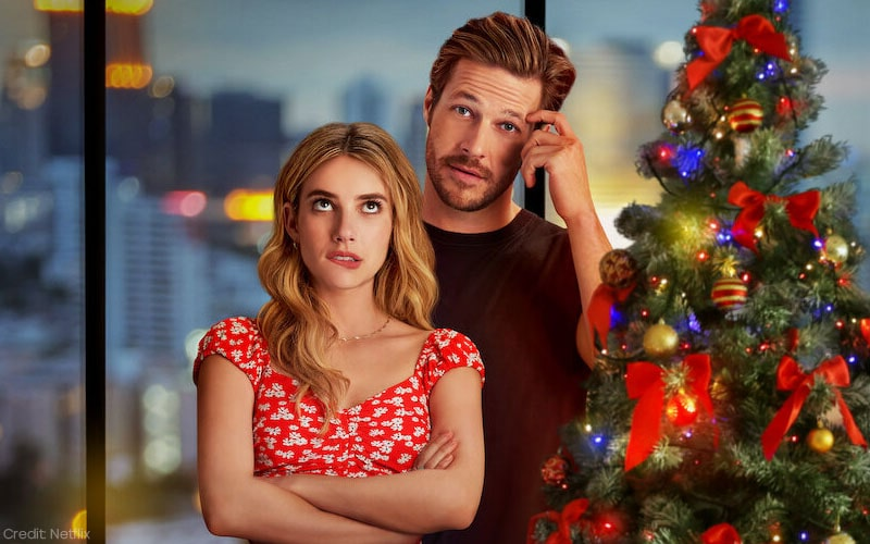 Holidate On Netflix Review Emma Roberts And Luke Bracey In Just Another Account Of Adults Unaware Of Their Adult Feelings