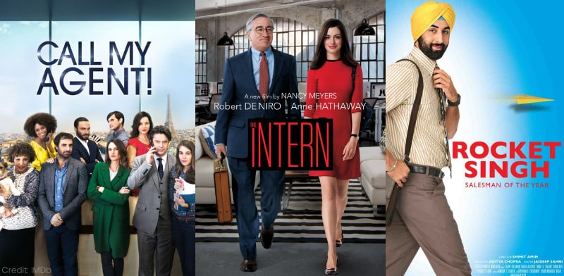 Call My Agent Rocket Singh The Intern Office Films