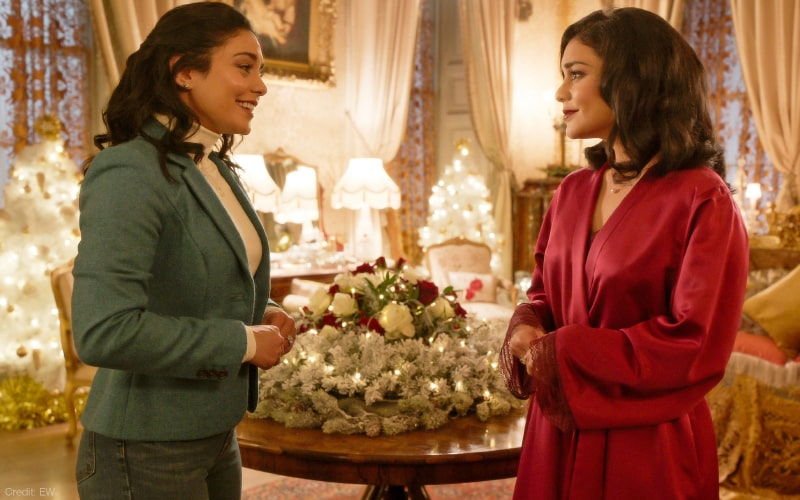 The Princess Switch: Switched Again On Netflix Is  Giddy, Giddy, Giddy- One For Each Of The Three Vanessa Hudgens-es, Film Companion