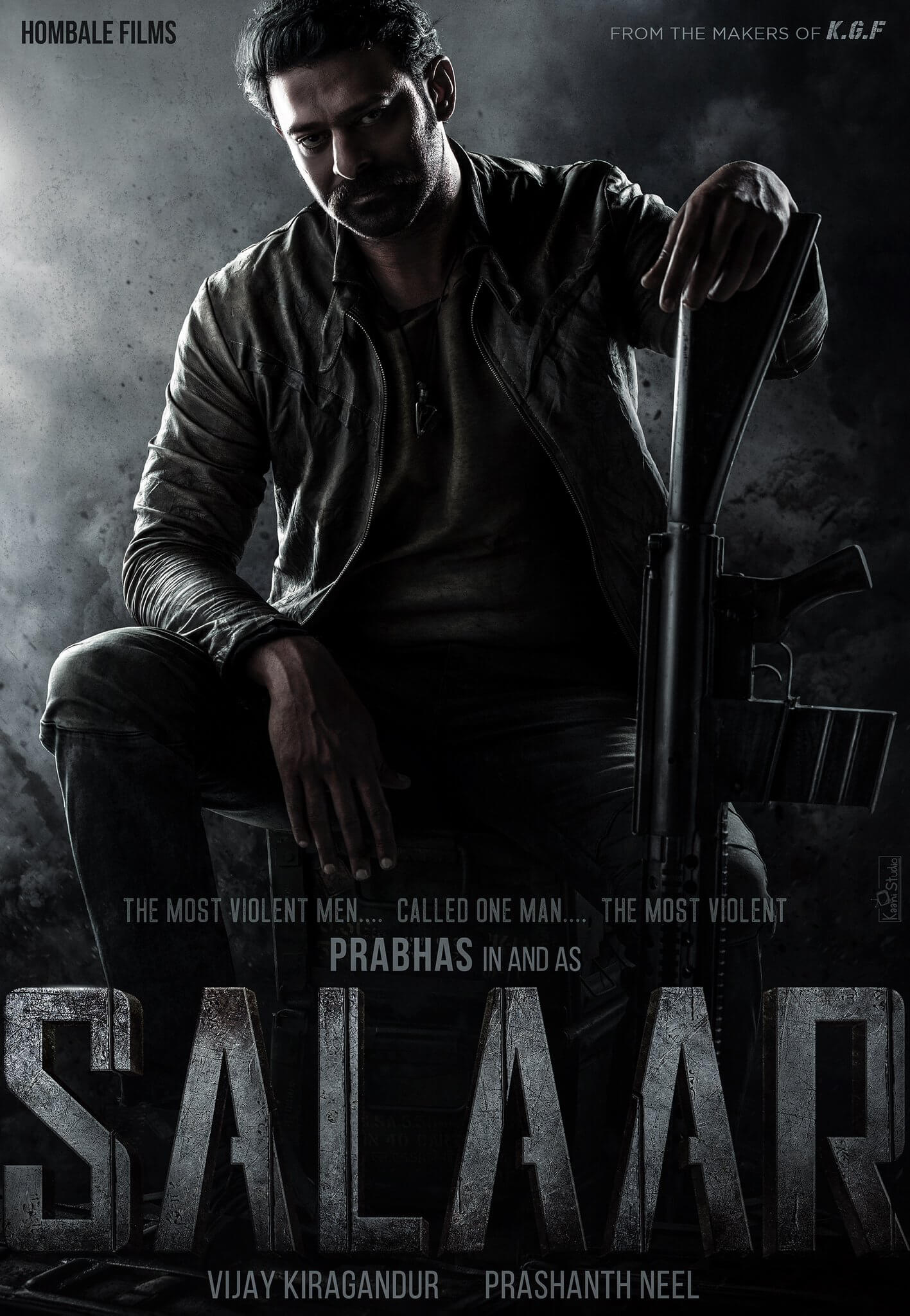 KGF Producers Announce New Multilingual Titled 'Salaar', Starring Prabhas