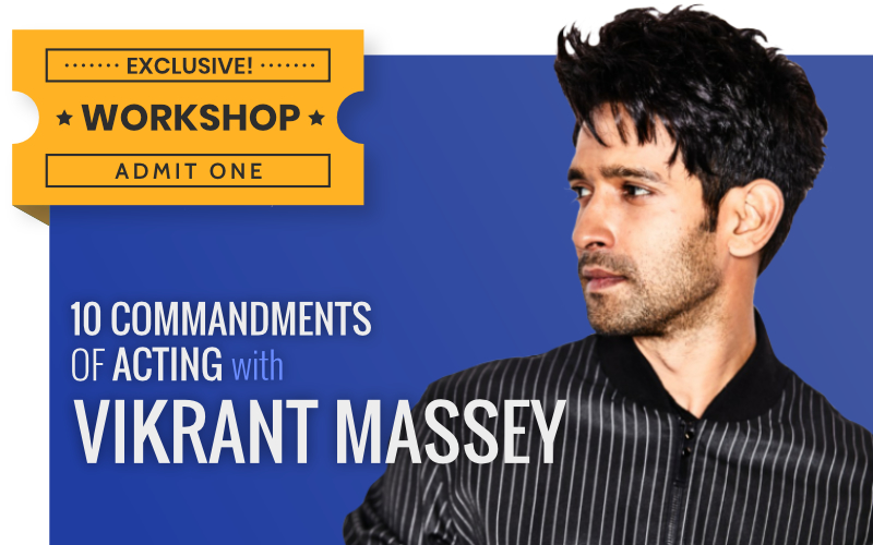 Vikrant Massey's Five Acting Commandments From His Front Row Session, Film Companion