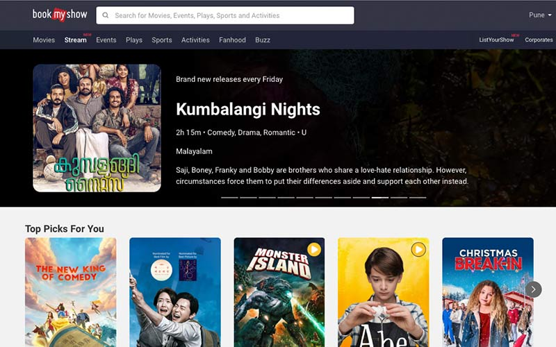 Everything You Need To Know About BookMyShow's New Streaming Platform, Film Companion