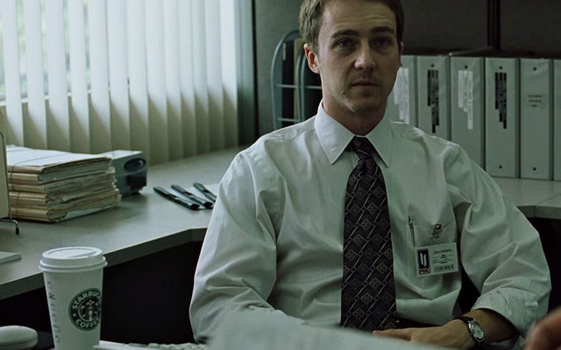 David Fincher's Sneaky Dig At Consumerism With Starbucks Cups In Fight Club, Film Companion